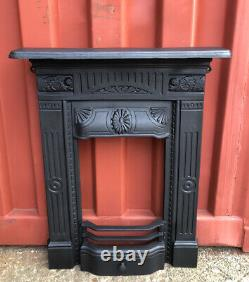2 AVAILABLE Victorian Cast Iron Fireplace Surround DELIVERY £35 Most Uk