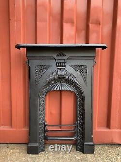 2 Available Early Victorian Cast Iron Fire Surround Delivery £35 Most Uk