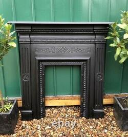 A Beautiful Cast Iron fireplace Surround