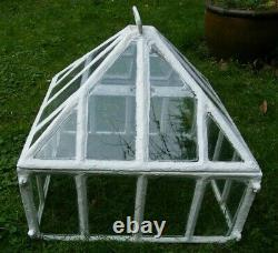A Large Reclaimed Antique Victorian Country House Cast Iron Garden Cloche