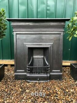 A Stunning & Beautiful Quality Cast Iron Combination Fireplace Complete