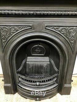 A Superb Quality Cast Iron Combination Fireplace Complete