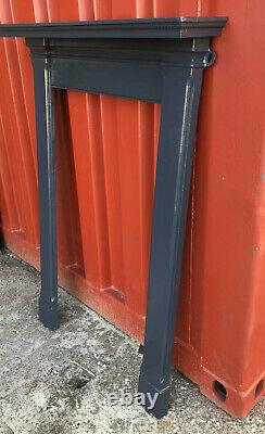 Antique Anthrite Grey Cast Iron Fireplace Surround DELIVERY free or £35 most UK