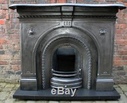 Antique Cast Iron Fire Surround, Fireplace