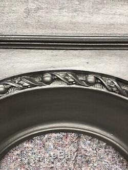 Antique Cast Iron Fire Surround / Fireplace Arched, Early Victorian, Uk Delivery