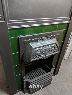 Antique Cast Iron Fireplace Woodburning DELIVERY free or £35 most UK