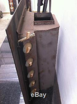 Antique Style Cast Iron Victorian Tiled Insert Fireplace Convector Box (PK263)