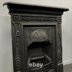 Antique, Victorian Cast Iron Fireplace DELIVERY Free Or £35 UK