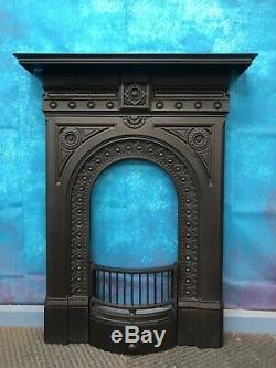 Antique Victorian Cast Iron Fireplace DELIVERY free or £35 most UK
