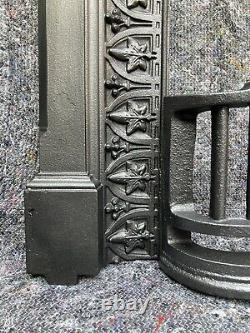 Antique Victorian Cast Iron Fireplace / Fire Surround, Arched, Uk Delivery