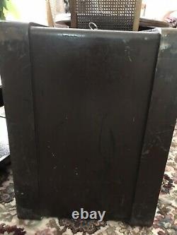 Antique Victorian Vintage Whitfield & Co Cast Iron Floor Safe
