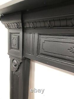 Antique cast iron fire Surround suit wood burner DELIVERY FREE OR £35 Most Uk