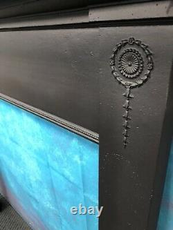Antique cast iron fire Surround suit woodburner DELIVERY FREE OR £35 Uk