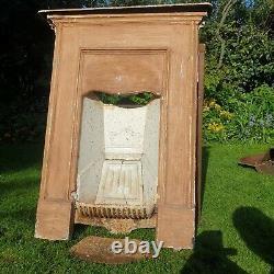 Antique victorian cast iron fire surround Fireplace