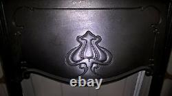 Art nouveau fire insert. 80 TO CHOOSE FROM IN OUR EBAY SHOP. Stock item NT016