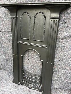 Arts & Crafts / Victorian Cast Iron Fireplace / Fire Surround / Voysey