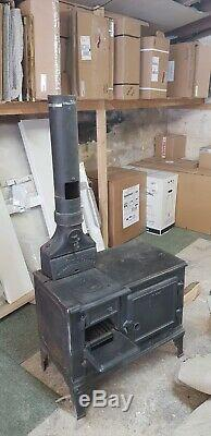 Belle Portable Cast Iron Stove / Range with Oven Including Flue Pipe