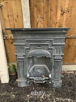 Cast Iron Bedroom Fireplace