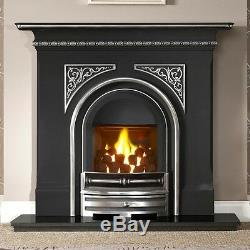 Cast Iron Combination Fire, High Efficiency, Pembroke Highlight