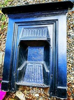 Cast Iron Combination Fireplace Edwardian Victorian