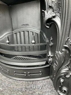 Cast Iron Fireplace / Fire Surround / Insert / Georgian Style / Gas