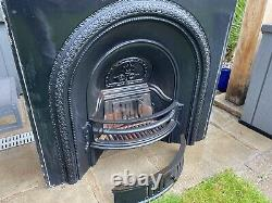 Cast Iron Fireplace / Fire Surround / Insert / Victorian Arch Style
