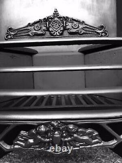 Cast Iron Fireplace / Fire Surround / Insert / Victorian/ Georgian Style / Uk