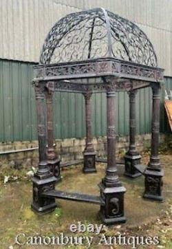 Cast Iron Gazebo Victorian Garden Canopy Architectural