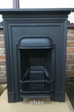 Cast Iron Original Victorian / Edwardian Bedroom Fireplace