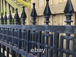 Cast Iron Railing section Railings Cast / steel Railing Fence Railing gate piec