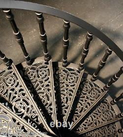 Cast Iron Spiral Stair 1040mm dia, Staircases & Balcony, Also Castiron Balconies