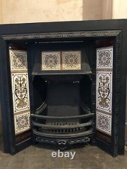 Cast Iron Victorian Fireplace Original