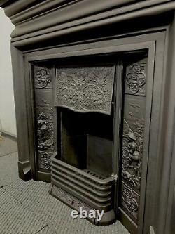 Cast iron Fireplace DELIVERY FREE OR £35 Uk