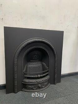 Cast iron arch fireplace And Fire Surround DELIVERY FREE OR £35 Uk