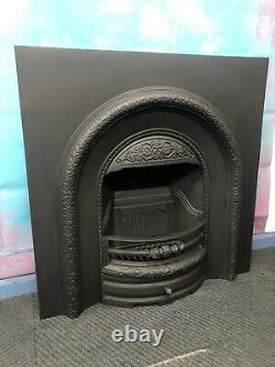 Cast iron arch fireplace, Wood burning DELIVERY FREE OR £35 Uk