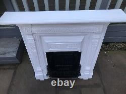 Cast iron fireplace (Victorian Style)