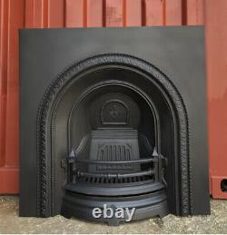 Cast iron fireplace, grate, Solid Fuel Or Display DELIVERY FREE OR £35 Uk
