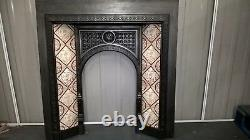 Cast iron tiled insert. OVER 80 TO CHOOSE FROM IN OUR EBAY SHOP. Stock item 010