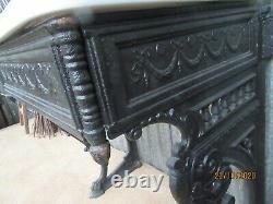 Catchpole Rye Victoria Washstand Vanity Cast Iron Victorian Overmantel £3000new