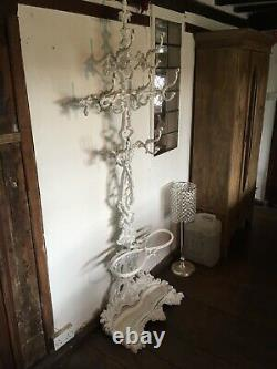 Coalbrookdale Cast Iron Coat Hat and Stick Stand Hall Stand Tree Victorian