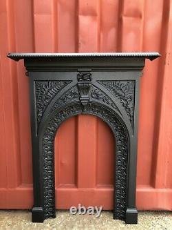 Early Victorian Cast Iron Fire surround DELIVERY Free Or £35 UK