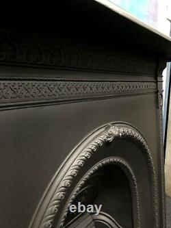Early Victorian Cast Iron Fireplace DELIVERY free or £35 most UK
