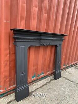 Edwardian cast iron fire Surround DELIVERY FREE OR £35 Most Uk