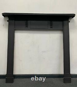 Edwardian cast iron fire Surround Woodburner DELIVERY FREE OR £35 Most Uk