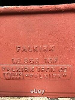 Falkirk Edwardian Cast Iron tiled Fireplace DELIVERY free or £35 most UK