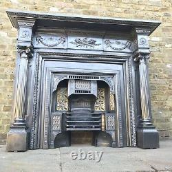 Fireplace Cast Iron Victorian Surround Neo Classical, Adams