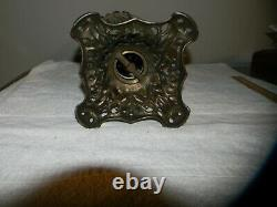 GONE WITH THE WIND GWTW ANTIQUE OIL PARLOR LAMP Flamingos RARE