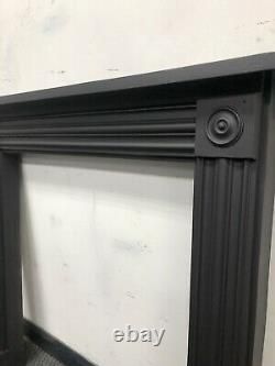 Georgian cast iron fire Surround / wood burner DELIVERY FREE OR £35 Uk