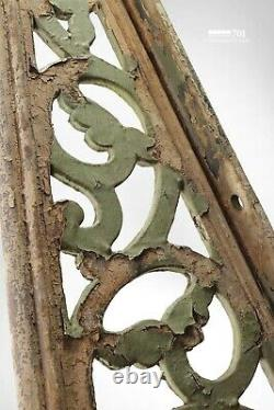 Huge Victorian Vintage Cast Iron Canopy Brackets From Gloucester Railway Station