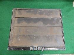 Large Antique Cast Iron Heat Register Grate Vent Old Victorian Vintage 4820-15
